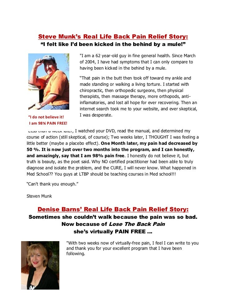 The 7-day Back Pain Cure Pdf