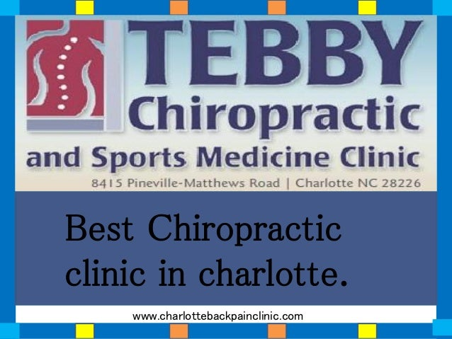 Best Chiropractic clinic in charlotte. www.charlottebackpainclinic.com
