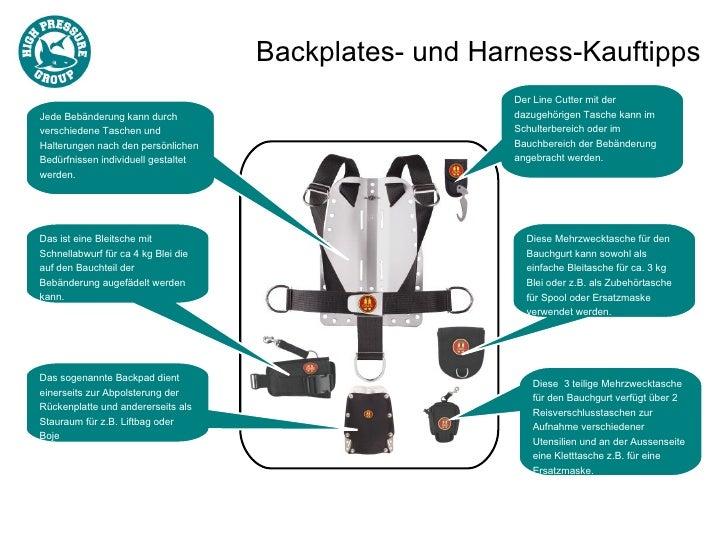 Backplates- und Harness-Kauftipps                                                        Der Line Cutter mit derJede Bebän...