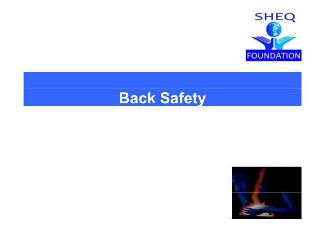 Back Safety 15