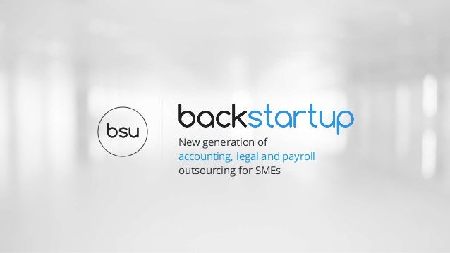 New generation of accounting, legal and payroll outsourcing for SMEs