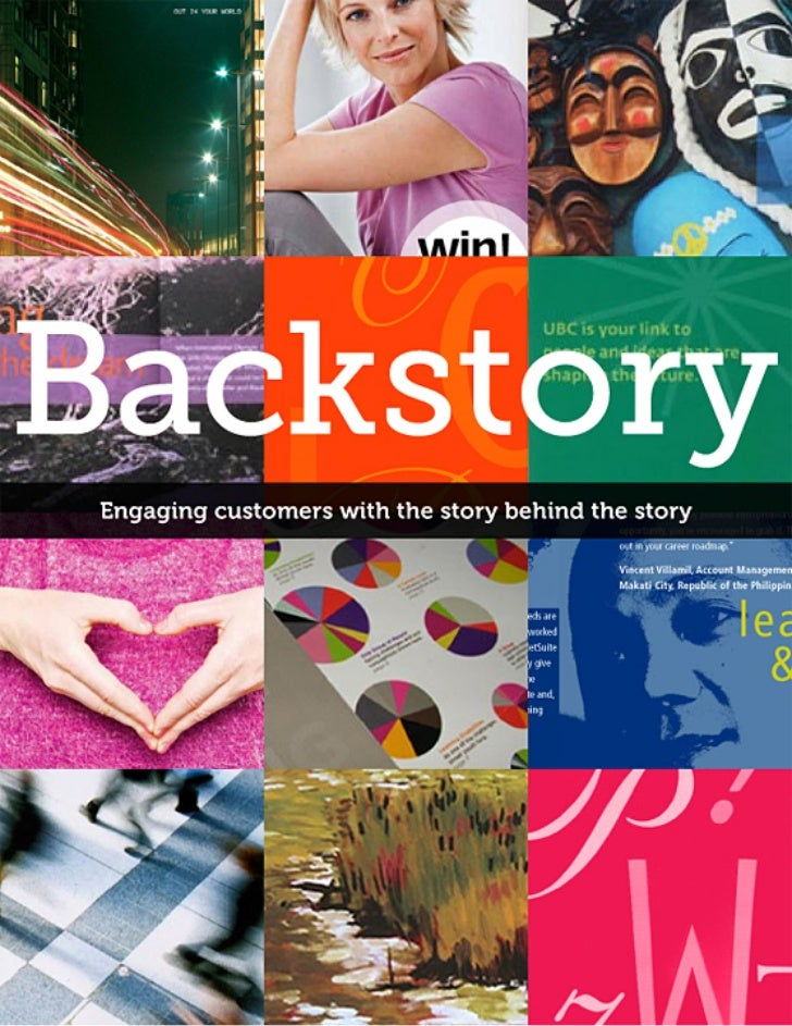 """Backstory                                                                                    """"Our team works with small to..."""