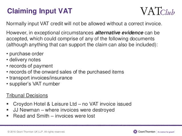 Back To Basics VAT Invoicing The Reverse Charge - Invoice requirements uk