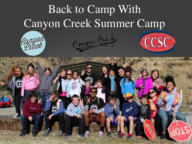 back to camp with the los angeles summer camp canyon creek