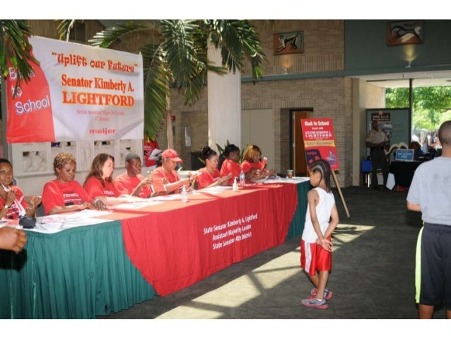 Uplift our Future: Sen. Kimberly Lightford's 2014 Back to School Event