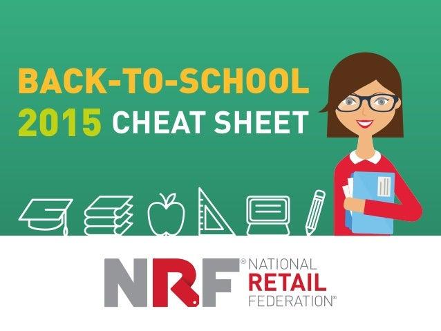 BACK-TO-SCHOOL 2015 CHEAT SHEET