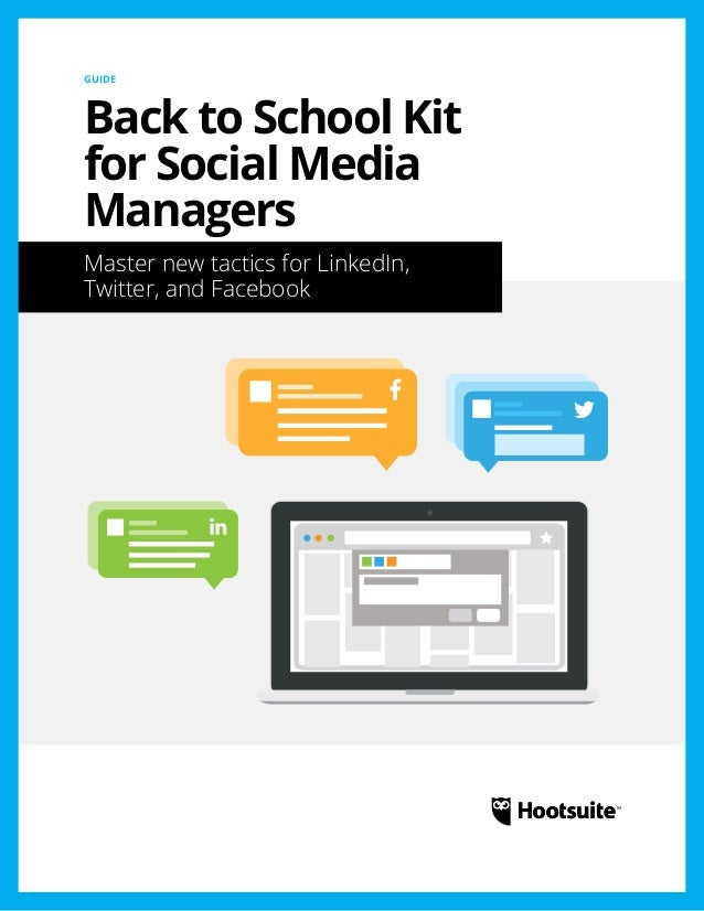 Back to School Kit for Social Media Managers