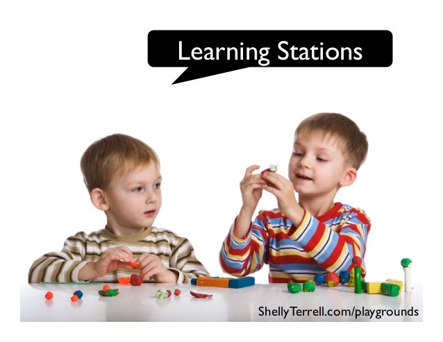 Learning Stations ShellyTerrell.com/playgrounds