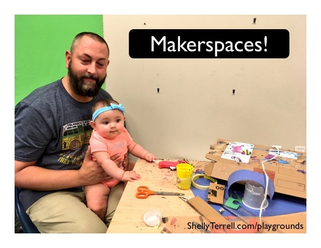 Makerspaces! ShellyTerrell.com/playgrounds