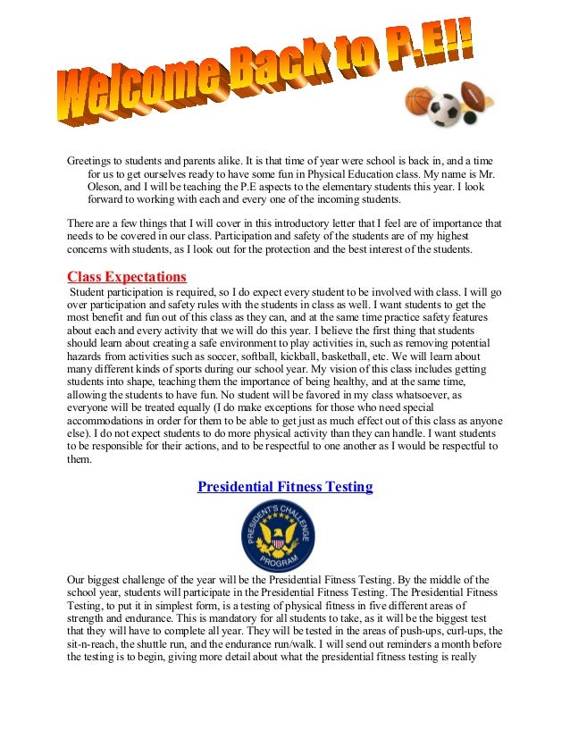 Back To School Newsletter 215