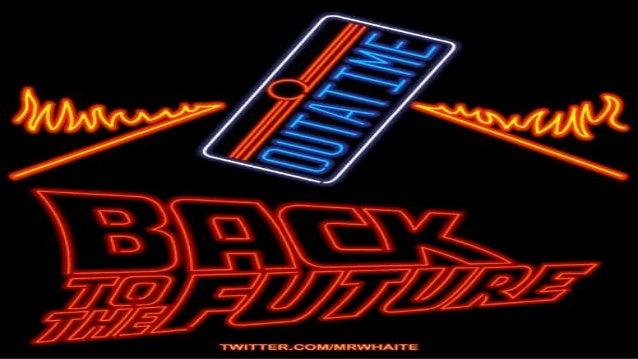 El 21 de octubre de 2015 será la fecha en que Marty McFly viajó en Regreso al Futuro II.
