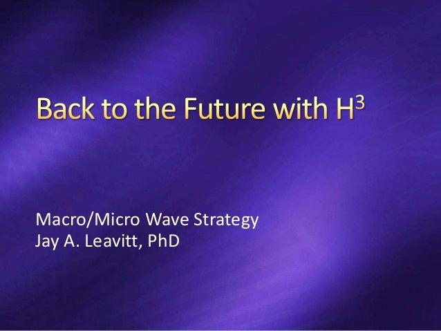 Macro/Micro Wave Strategy Jay A. Leavitt, PhD
