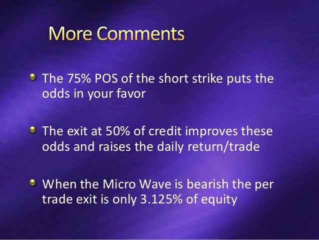 Wave reversals lasting 3 or fewer bars Two types Bull  Bear  Bull 5 occurrences These are of no consequence Bear  Bull ...