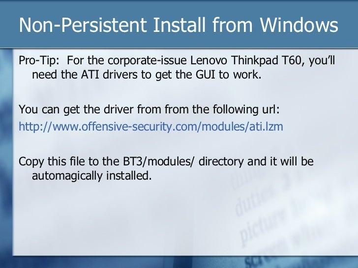 Bt3 Final Usb Install