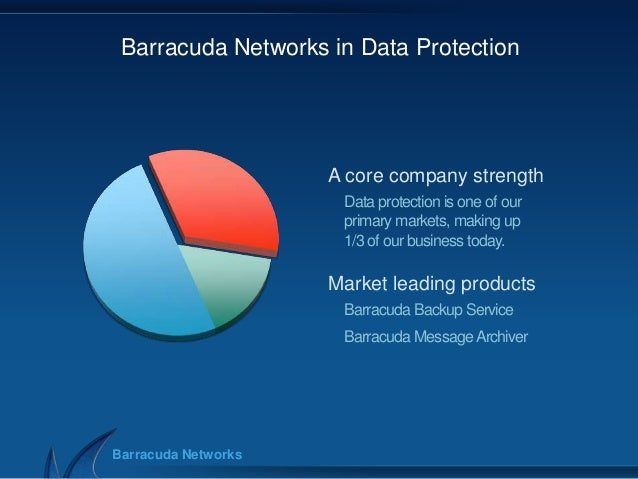 Backup2013 Barracuda Networks