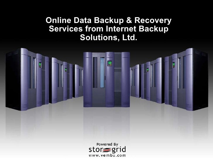 Online Data Backup & Recovery Services from Internet Backup Solutions, Ltd.