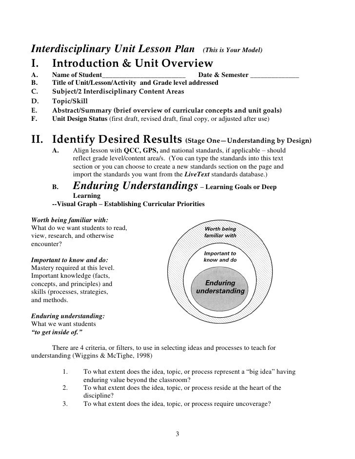 Backwards By Design in the Exemplary Middle School – Engineering Design Process Worksheet
