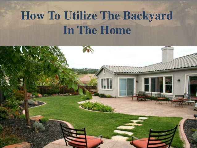 12 Great Ideas For A Modest Backyard: Backyard Design Ideas For Home