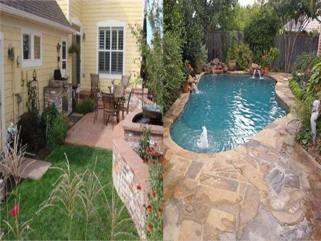Backyard design ideas for home