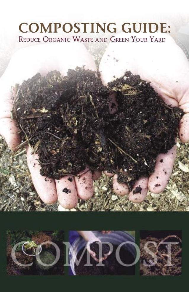 COMPOSTING GUIDE: REDUCE ORGANIC WASTE AND GREEN YOUR YARD