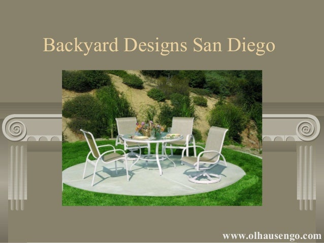 Backyard designs in sandiego - Backyard design san diego ...