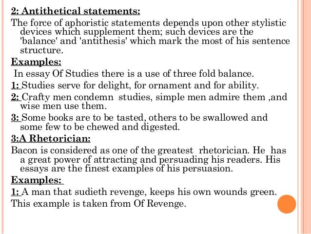 Stylistic Devices (Rhetorical Devices, Figures of Speech)