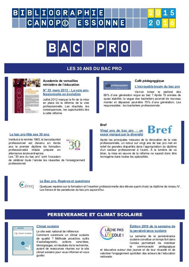 Academie de versailles ministère de l'éducation N° 35 mars 2013 : La voie pro- fessionnelle en évolution Juillet 2012 marq...