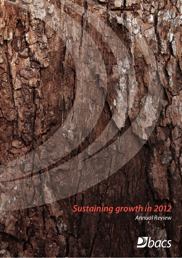 Sustaining growth in 2012Annual Review