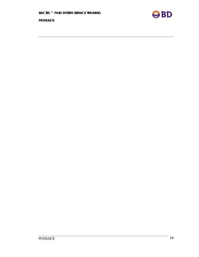 Bactec Fx System User's Manual - omnitree