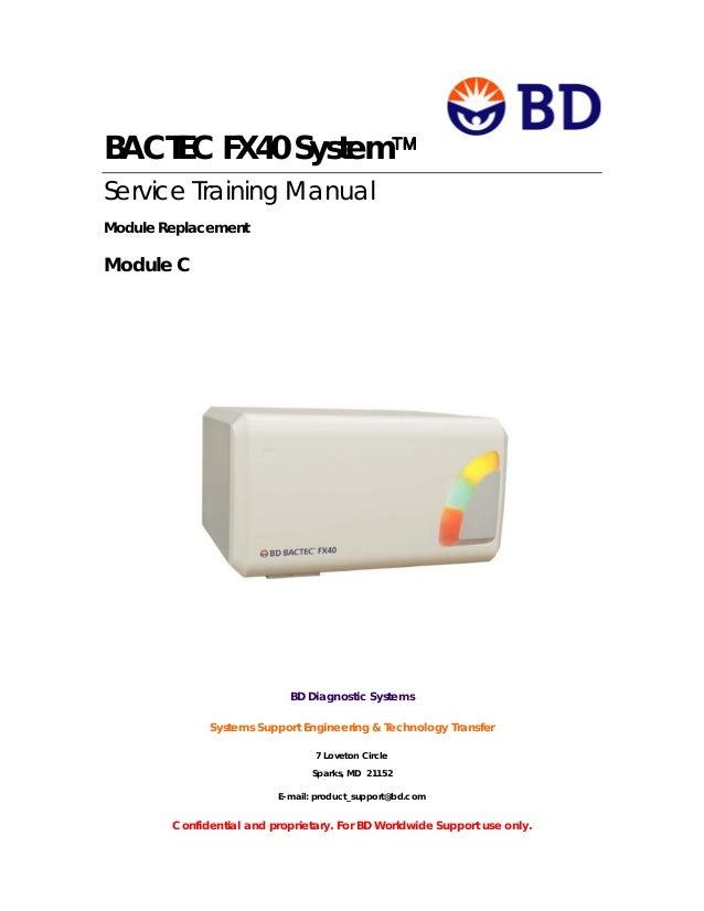 BD BACTEC FX Instruments - BD