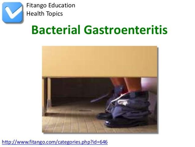 bacterial gastroenteritis