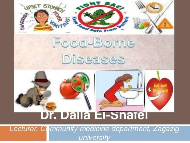 Dr. Dalia El-Shafei Lecturer, Community medicine department, Zagazig university