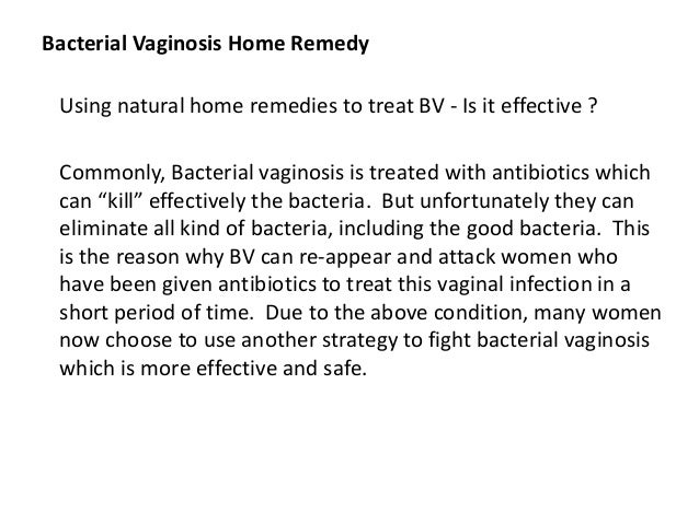 Bacterial Vaginosis Home Remedy Easiest And Fastest Way To Stop Tha