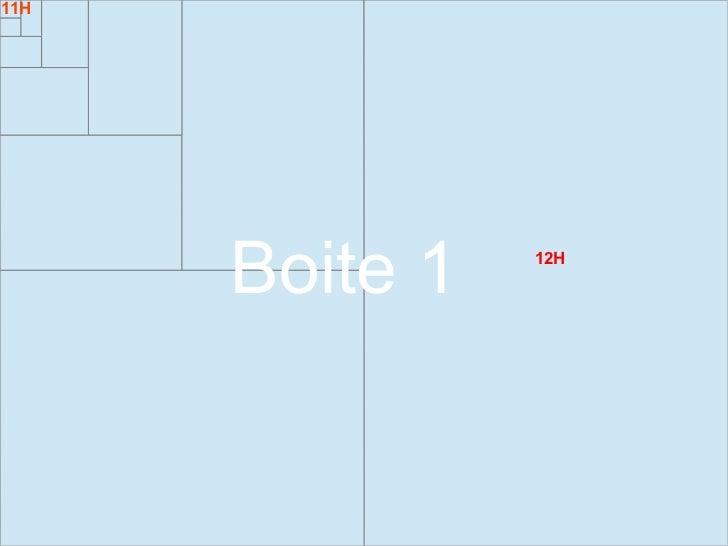 11H      Boite 1   12H