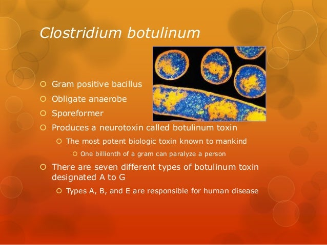 botulism case study Clinicians who suspect that they are treating a case of botulism should immediately contact their state health during the period under study.