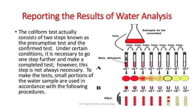 the use of mpn in determining the forms of coliform bacteria • complete requisition for water sample units form determine the validity of coliform & e coli testing at the state laboratory author: deq laboratory.