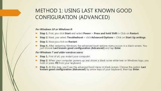 How To Fix Badsystemconfiginfo Error In Windows 10 How to