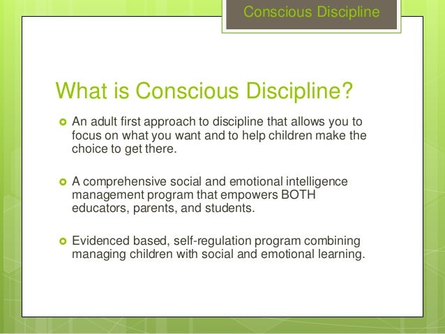 essay on self discipline for children