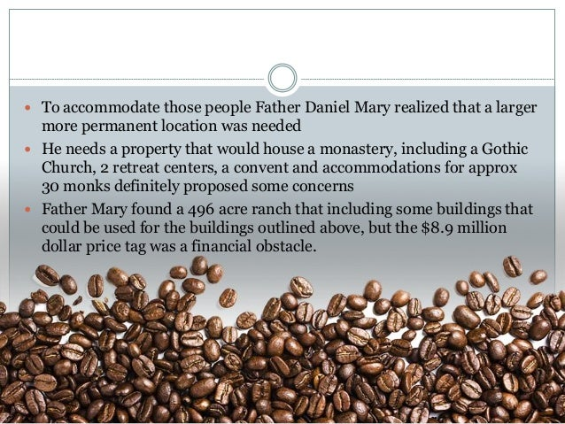 mystic monk coffee 2 essay