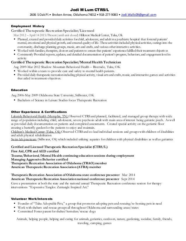 jodi m lum 2015 resume