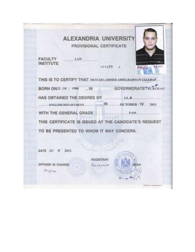 certifications -