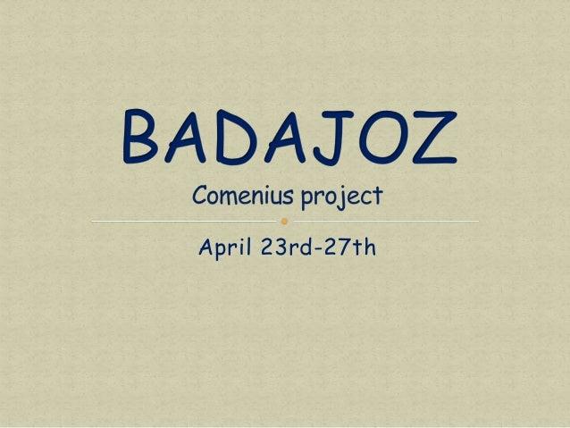 April 23rd-27th
