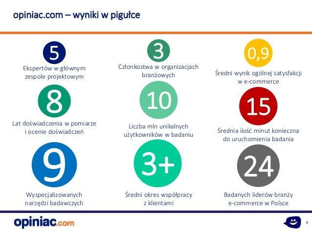 9 8Lat doświadczenia w pomiarze i ocenie doświadczeń 5 Ekspertów w głównym zespole projektowym 24 Badanych liderów branży ...