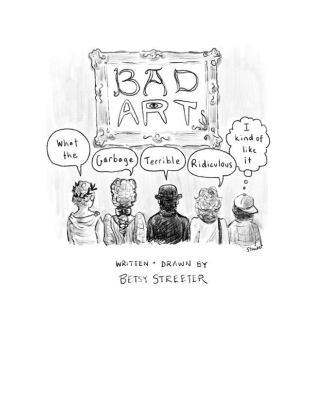 Betsy Streeter is an artist and cartoonist. Get her newsletter.