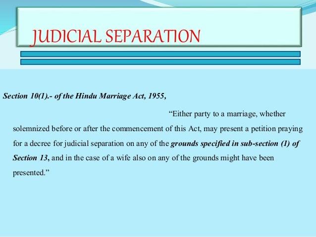 grounds for judicial separation