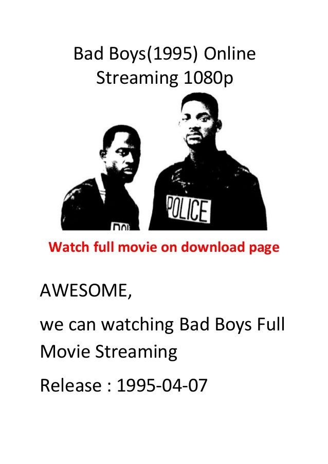 Bad Boys 1995 Action With Comedy Movies