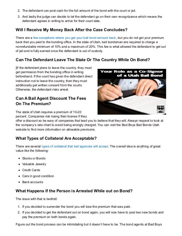 7 frequently asked bail bonds questions answered - Premium bonds post office ...