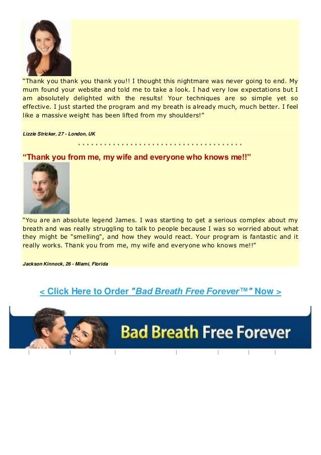 Bad Breath Solution