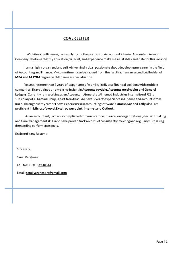 Quantitative Analyst Cover Letter Sample LiveCareer