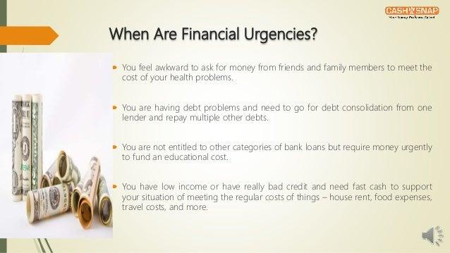 Bad credit emergency loans can help in urgencies